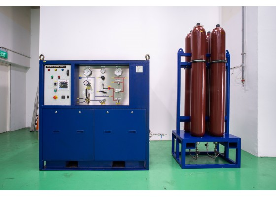 AUTOMATED FLUSHING AND PRESSURE TEST SYSTEM